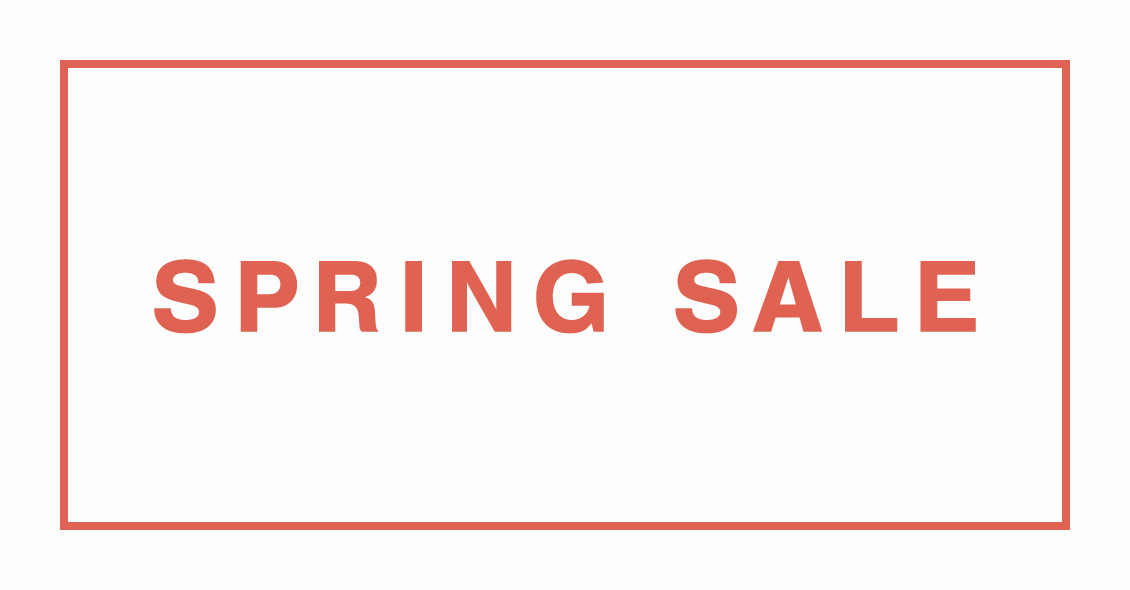 SPRING SALE_5/22(金)10:00
